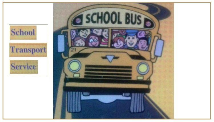 School Bus & Van Services (Pickup and Drop) for Schools in